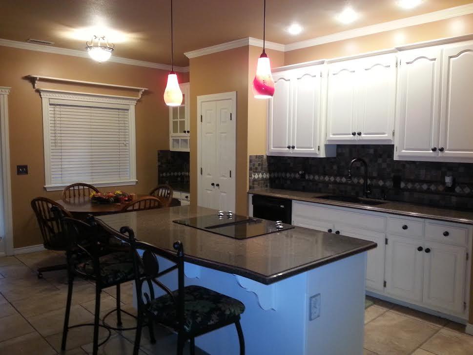 Kitchen Cabinets Tulsa the tulsa painters - interior & exterior house painting company