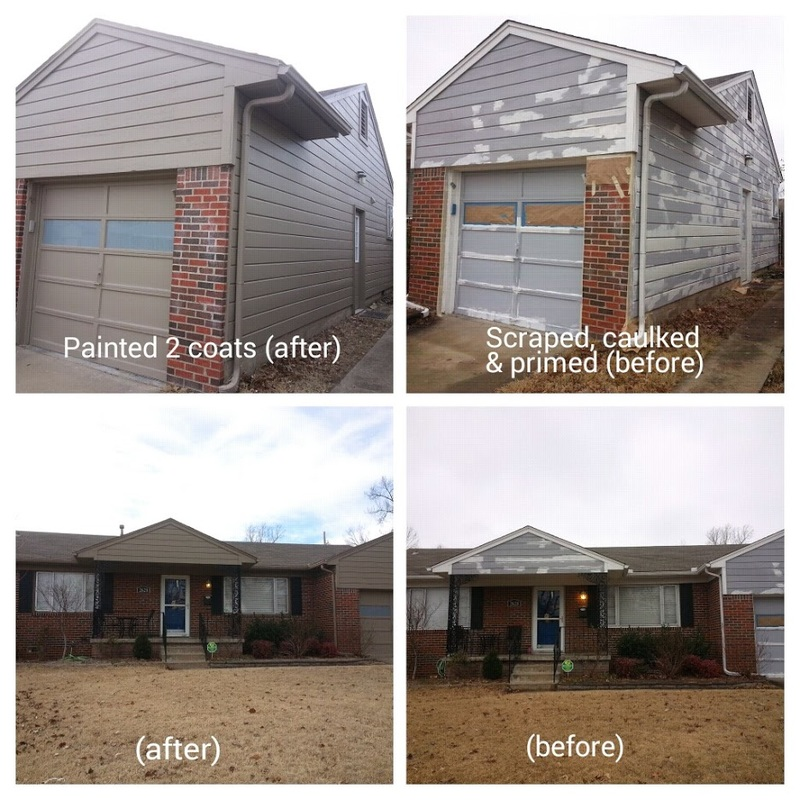 House Painting Contractors Greensboro: Your Local Tulsa Residential House Exterior Painting