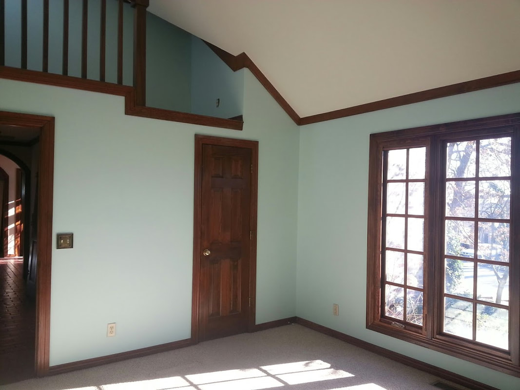 Residential House Painter serving Tulsa, Broken Arrow and surrounding areas - Tulsa Interior & Exterior Paint Contractor