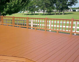 The Tulsa Painters seal, stain & preserve Decks &Fences